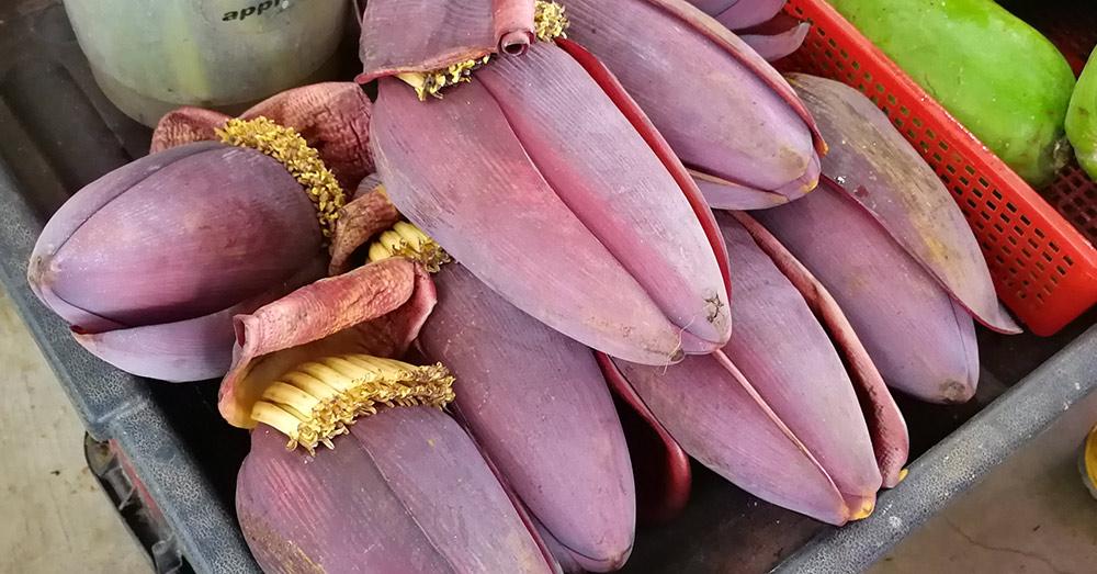 Jantung Pisang (ジャントンピサン:バナナの花) 【英】 Banana Blossom