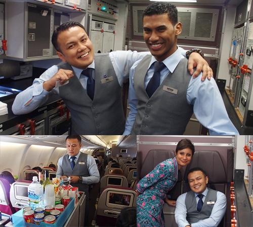 マレーシア航空をお薦めする魅力その2 笑顔のサービス